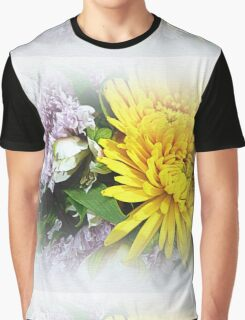 Floral Refreshment Graphic T-Shirt