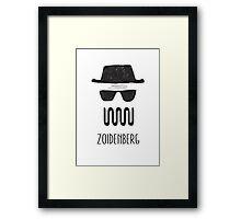 ZOIDENBERG Framed Print