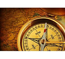 Compass for a captain Photographic Print