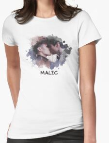 Malec - Shadowhunters - Canvas Womens Fitted T-Shirt