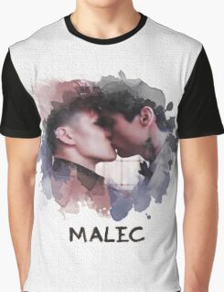 Malec - Shadowhunters - Canvas Graphic T-Shirt