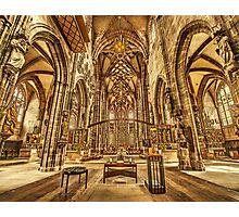 St. Lorenz medieval church Nuremberg Germany Photographic Print