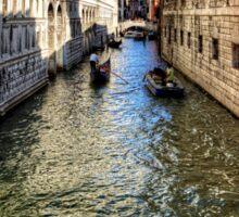 That Bridge in Venice Sticker