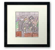 The Marauders Framed Print