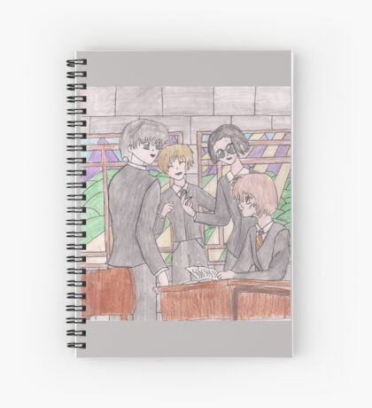The Marauders Spiral Notebook