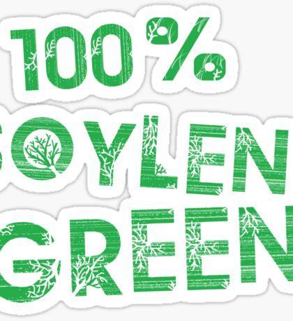 100% SOYLENT GREEN Sticker