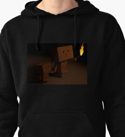 Boxes in the Dark Pullover Hoodie