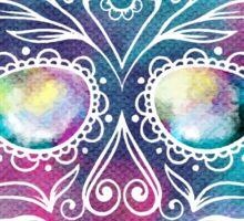 Watercolor Skull Sticker