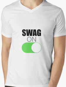 Swag On Mens V-Neck T-Shirt