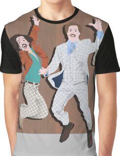 Anchorman Flash Graphic T-Shirt