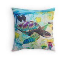 Enchanted Sea  Throw Pillow