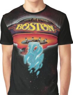 Boston - Space Graphic T-Shirt
