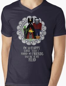 tunewords  - Nirvana  Mens V-Neck T-Shirt