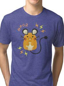 Cute + Cuddly Dedenne  Tri-blend T-Shirt