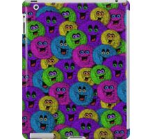 Friendly Fuzzles Cute Creatures Pattern iPad Case/Skin