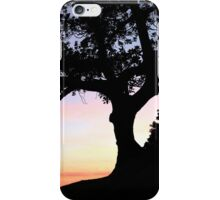 Fig Tree Silhouette iPhone Case/Skin