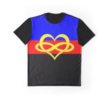 Infinate Love Poly Pride Graphic T-Shirt