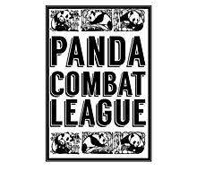 PANDA COMBAT LEAGUE Photographic Print