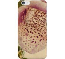 Foxglove Textures iPhone Case/Skin