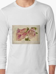 Foxglove Textures Long Sleeve T-Shirt