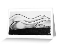 Body Lines Greeting Card