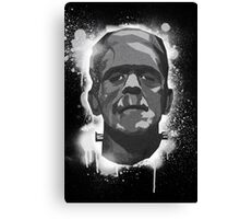 Stencil Boris K Canvas Print