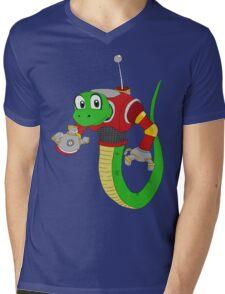 Snakey Steampunk! Mens V-Neck T-Shirt