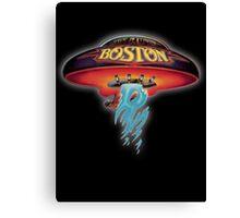 Boston Artwork (Band) Canvas Print