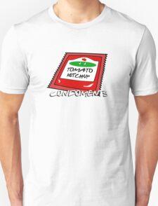 Condoments #1 - Tomato Ketchup Unisex T-Shirt