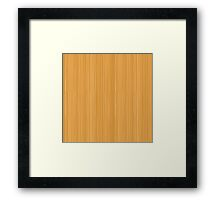 Beautiful wood Design collection Framed Print