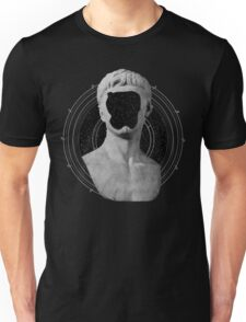 Faceless Greek Sculpture Vaporwave Design Unisex T-Shirt