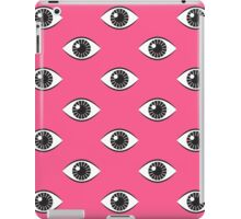 Eyes Wide Open - Lipstick Pink iPad Case/Skin