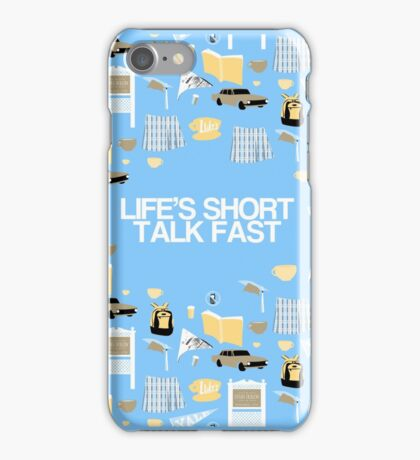 Life's Short. Talk Fast iPhone Case/Skin