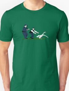 Swan cops Unisex T-Shirt