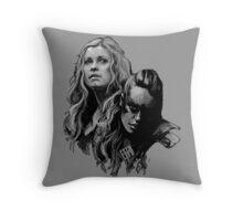 heda lexa Throw Pillow