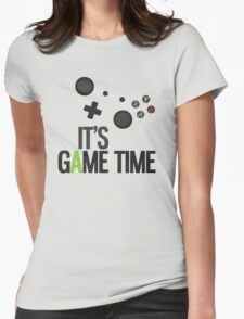 It's Game Time Womens Fitted T-Shirt