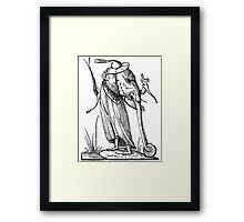 Droll Dreams of Pantagruel Framed Print