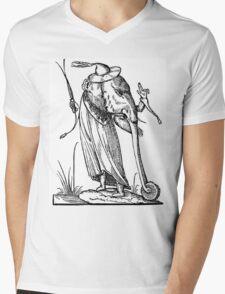 Droll Dreams of Pantagruel Mens V-Neck T-Shirt