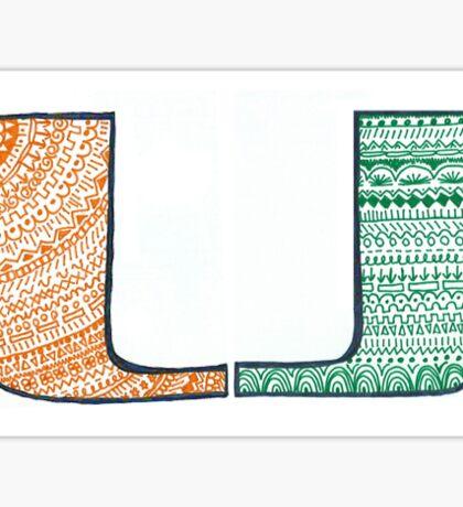 University of Miami (UMiami) Design Sticker
