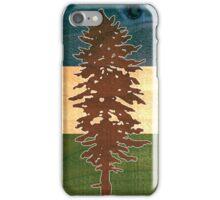 The Doug Flag on Cedar iPhone Case/Skin