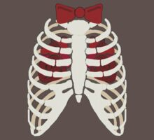 Time Lord Have Two Hearts - Doctor Who Skellington Baby Tee
