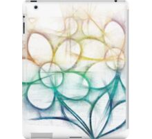 Colorful flowers iPad Case/Skin