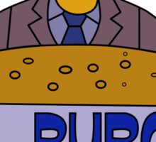 Internal Revenue Service Burger Sticker