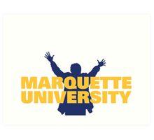 Marquette University Art Print