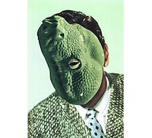 Snake Head Photographic Print
