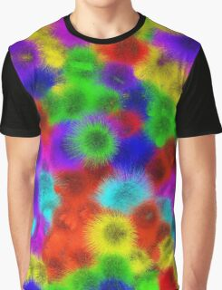 Psychedelic Fur Pattern Texture Graphic T-Shirt