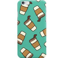 Take it Away Coffee Pattern iPhone Case/Skin