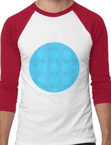 Aqua Mist Men's Baseball ¾ T-Shirt