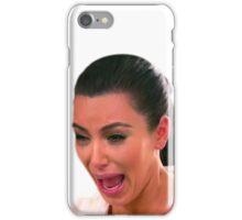 Crying Kim iPhone Case/Skin