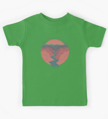 Canyon River Kids Tee